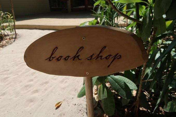 SONEVA FUSHI: BOOK SHOP