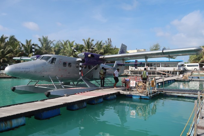 SONEVA SEAPLANE TRANSFER: MALE DOCK