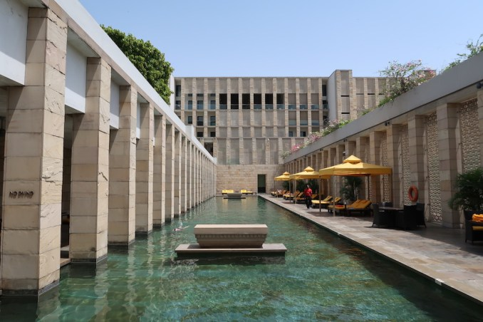 THE LODHI DELHI: POOL AREA