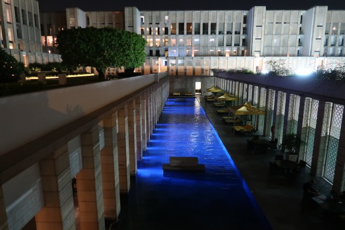 THE LODHI DELHI AT NIGHT