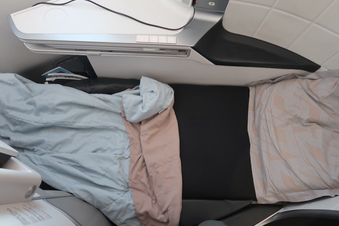 AIR FRANCE B787 BUSINESS CLASS SEAT (FLAT BED)