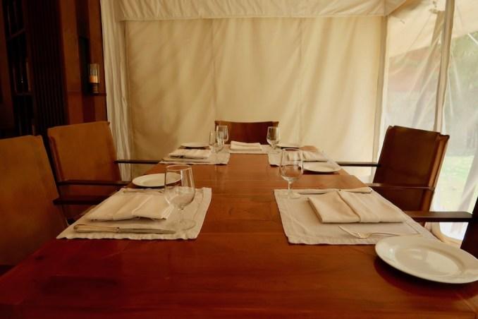 AMAN-I-KHAS: DINING TENT