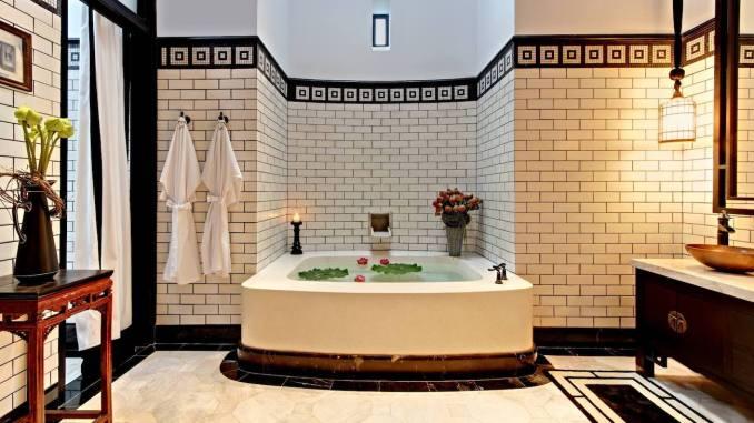 THE SIAM HOTEL BANGKOK, THAILAND hotel bathroom