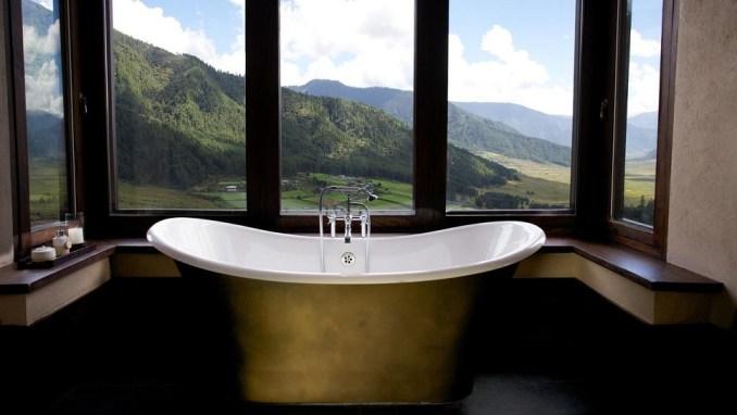 luxury hotels lodges bhutan