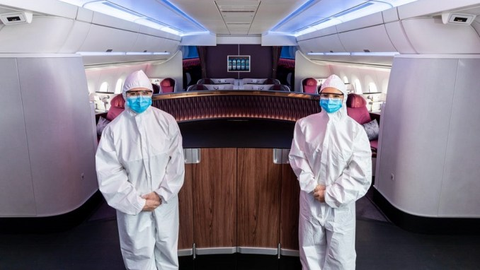 QATAR AIRWAYS PPE