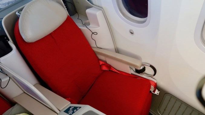 ETHIOPIAN AIRLINES B787 BUSINESS CLASS SEAT