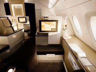 review lufthansa A380 first class