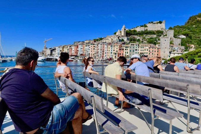 FERRY FROM PORTOVENERE TO CINQUE TERRE