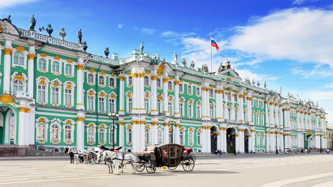 THE STATE HERMITAGE MUSEUM, ST PETERSBURG, RUSSIA