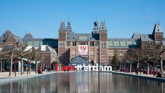 THE RIJKSMUSEUM, AMSTERDAM, THE NETHERLANDS