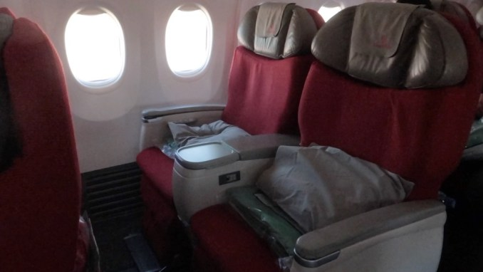 ETHIOPIAN AIRLINES B737 BUSINESS CLASS SEAT