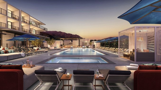 ANDAZ PALM SPRINGS, CALIFORNIA, USA