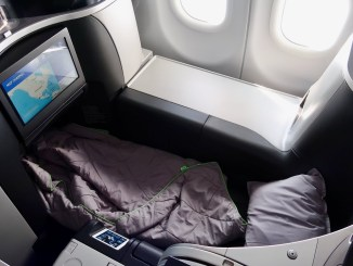 review jetblue business class mint