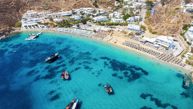 RELAX ON MYKONOS' FAMOUS BEACHES