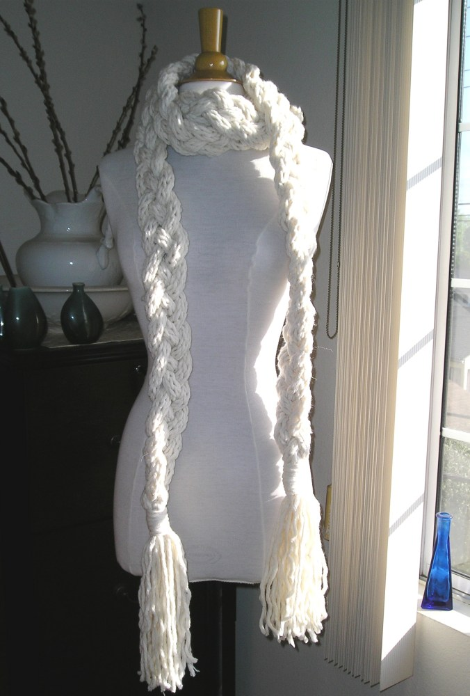 Rapunzel Scarf Pattern Finished! (1/2)