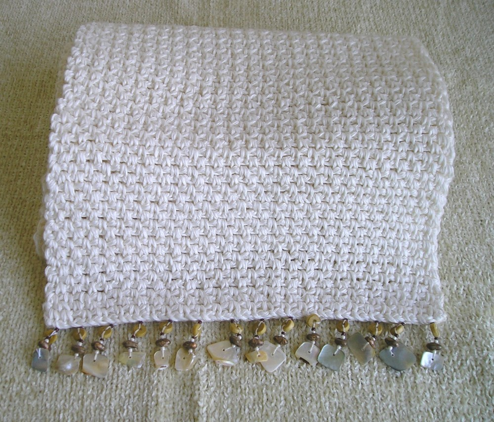 Woven Stitch Table Runner Pattern (1/2)