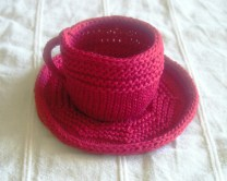 Tea Cup and Saucer, Scarlet