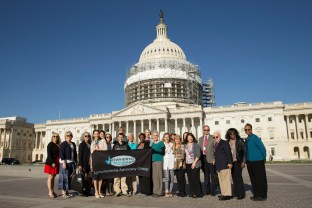 Photo by Julie F. Hanson, for the Lymphedema Treatment Act.