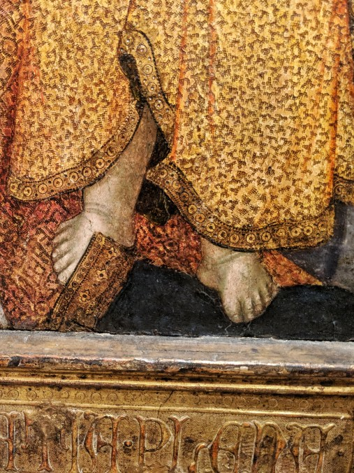 Detail from Madonna and Child (c. 1362-1422), by Taddeo di Bartolo