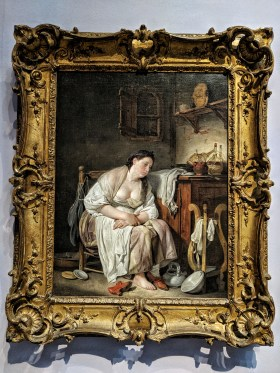 Indolence or La Paresseuse italienne (1757), by Jean-Baptiste Greuze
