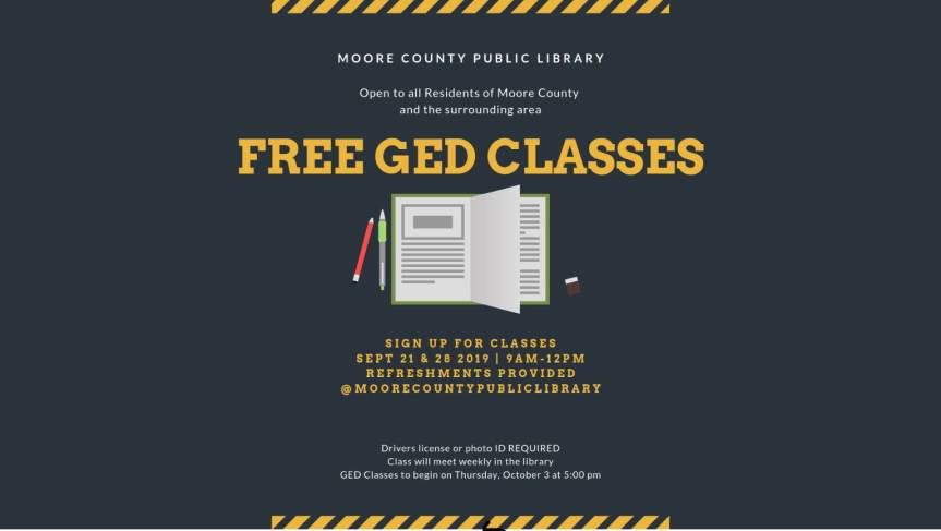 Library offers free GED classes