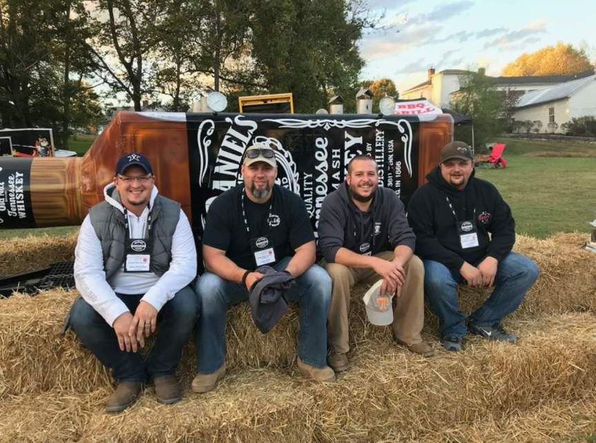 JD BBQ Like a Local: Lynchburg's Black Label Smokers compete for third straight year