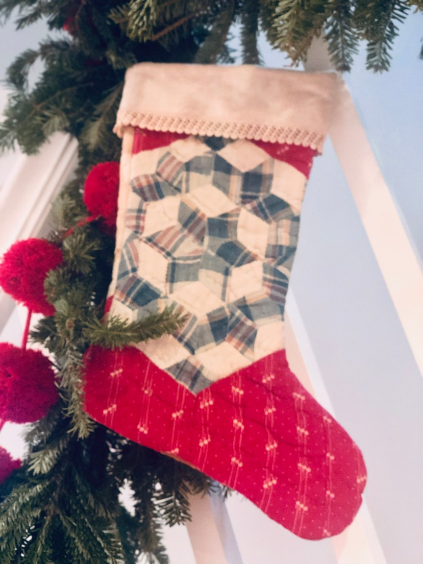 An Heirloom Christmas: Millsaps family treasures hand-quilted stockings