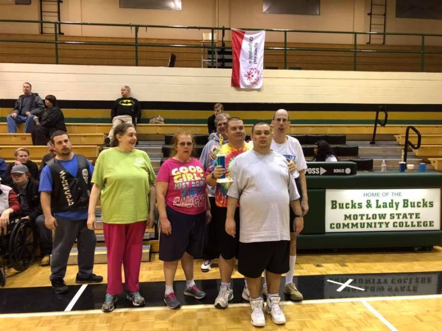 Locals raise money for Special Olympics Basketball team