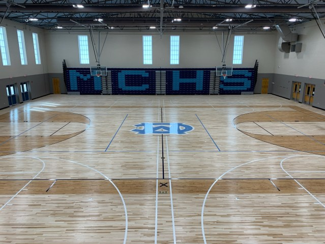 new Moore County High School Gym