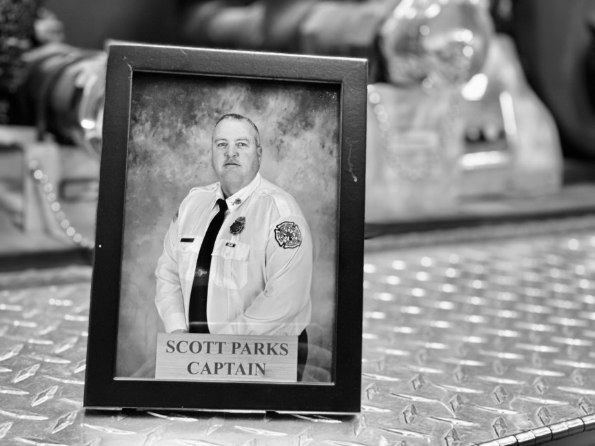 Metro Volunteer Fire Captain Scott Parks