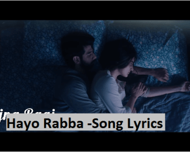 Hayo Rabba-song lyrics