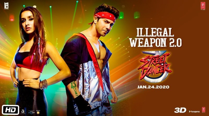 ILLEGAL WEAPON 2.0 SONG LYRICS - STREET DANCER 3D