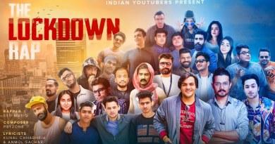THE LOCKDOWN RAP LYRICS - INDIAN YOUTUBERS