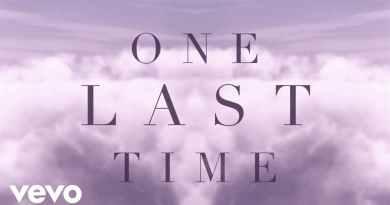 ONE LAST TIME LYRICS - ARIANA GRANDE