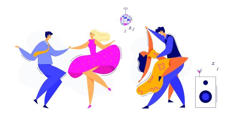 Soirée dansante - Cours de danse et dîner - THEMA CAFE MONTPELLIER