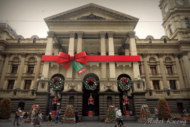 Christmas, Melbourne Town Hall (2)