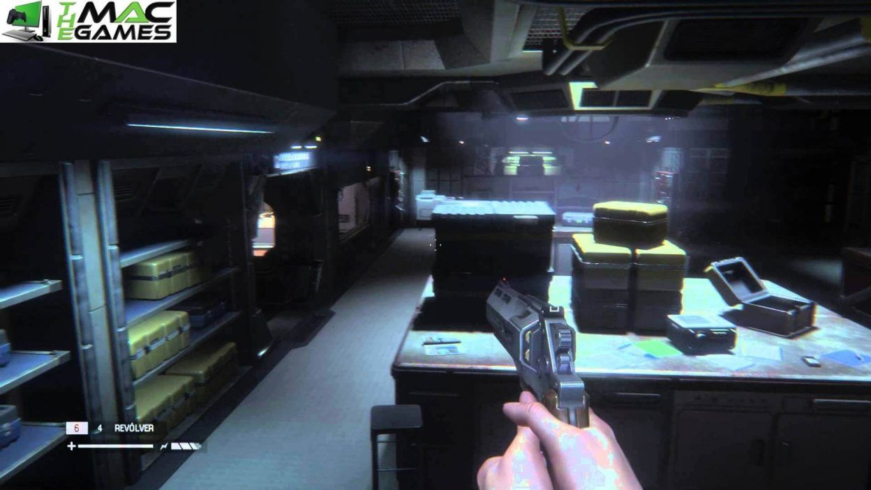 Alien Isolation MacOSX Free Download