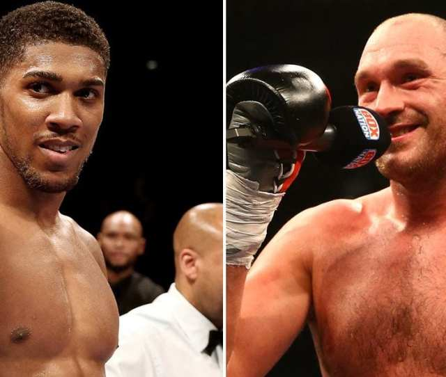 Globally There Is No Bigger Fight In Heavyweight Boxing Than Anthony Joshua Vs Deontay Wilder