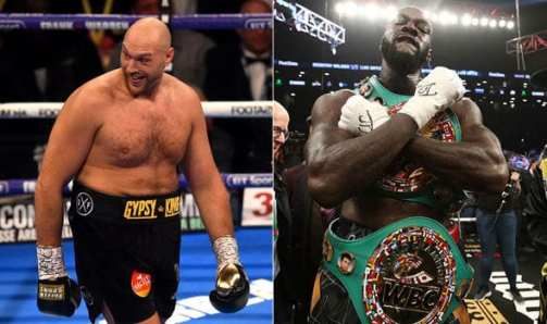 Image result for Deontay Wilder v Tyson Fury: Fight confirmed for 1 December