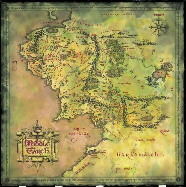 Middle Earth - Fellowship of the Ring