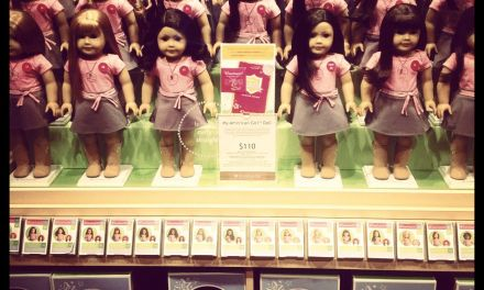 Pink, dolls and eerie awkward-moment'ness…