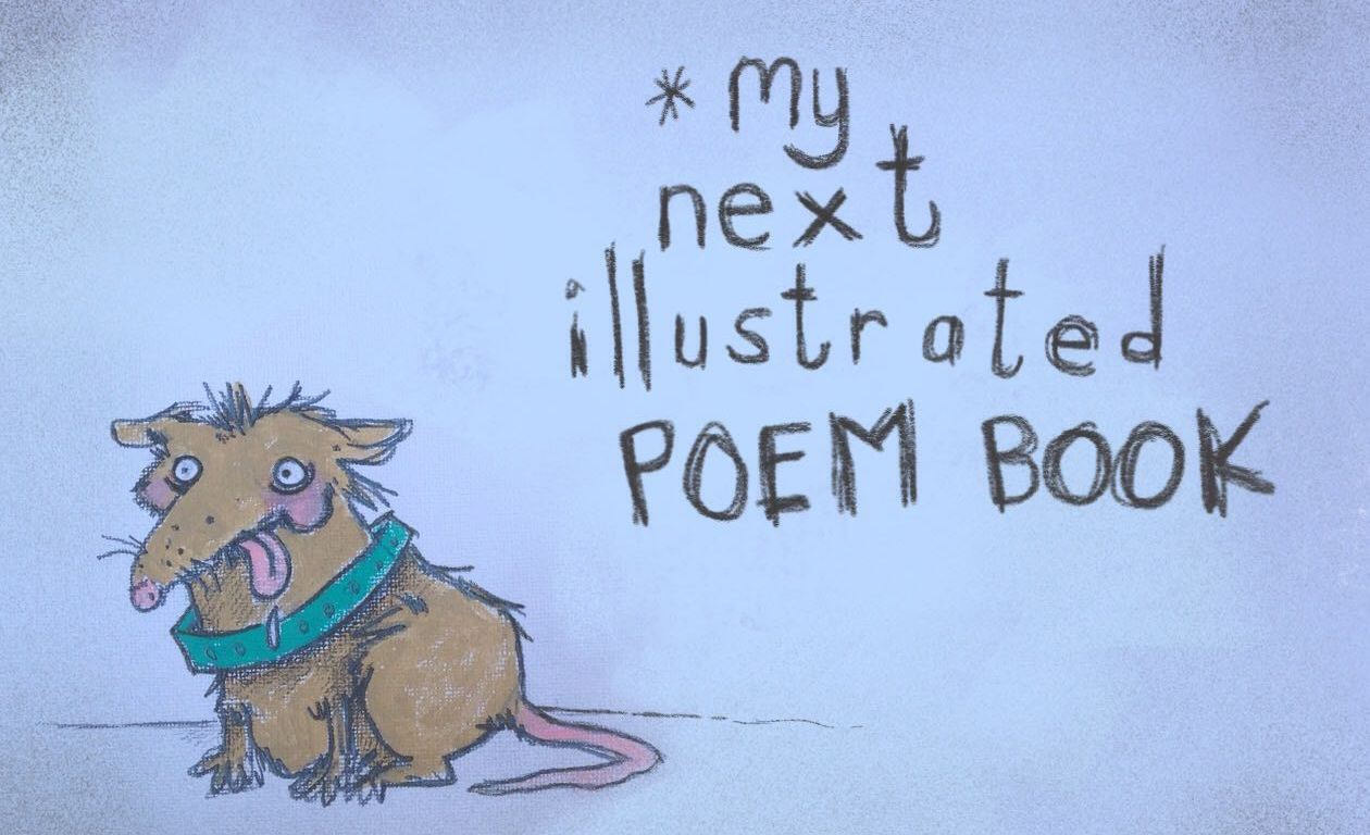 My new, illustrated poem-book