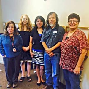 From left: Alejandra Perfetti, Laura Green, Ramona Natera, Antonio Quintanilla, Lilliam Post. Photo by Jacklin Bolduan