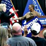 Clinton Talks Walker and Women During Thursday Rally