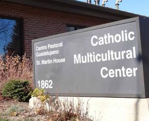 catholic-multiculturl-center-marquee-sign-centro-pastoral-guadalupano-st-martin-house