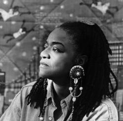 Faith Ringgold, Visual Artist. Photo by Grace Matthews 1993.