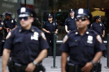 police--in-uniform-front-blurry-back-focused-blue-lives-matter