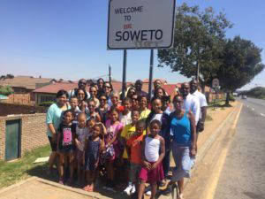 Clients of Henderson Tours visit Soweto, South Africa. Photo: Courtesy of Henderson Tours