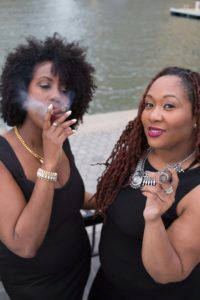 Stixx & Stilettos co-founders Monica Cooper and Vanessa Olivier (Photo: Jenny Catlow)