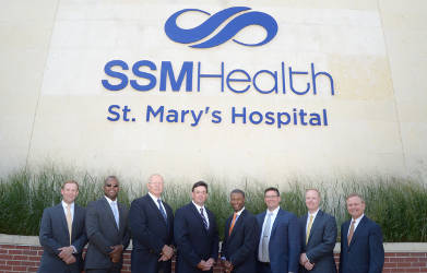 SSM Leadership Team. Photo courtesy of SSM Health.